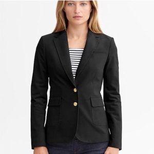 Banana Republic Hacking Jacket Blazer Black